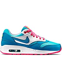 Nike Air Max 1 GS 653653108, Baskets Mode Enfant EU 36