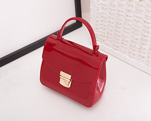 Eysee, Borsa tote donna verde scuro Red 17cm*12cm*7.5cm Wine red