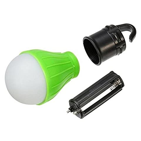 Ularma Outdoor Hanging Portable LED Camping Ampoule Tente Lumière Pêche Lampe Lanterne,vert