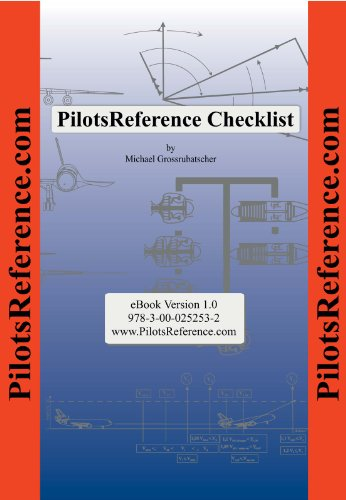 PilotsReference Checklist (English Edition)