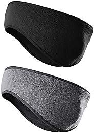 JOEYOUNG Fleece Ear Warmers/Muffs Headband for Men & Women Kids Perfect for Winter Running Yoga Skiing Wor