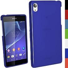iGadgitz Crystal Gel Funda Azul - fundas para teléfonos móviles (Funda, Sony, Xperia Z2 D6503, Azul)