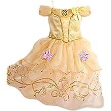 Ninimour Vestido de princesa Grimm's Fairy Tales Disfraces para Halloween Cosplay Costume para Niñas