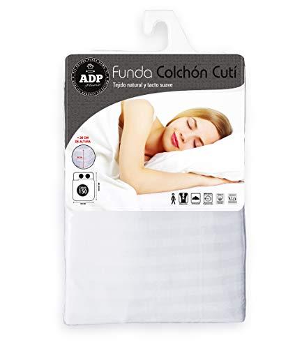 ADP Home - Funda colchón Cutí Cremallera L, 150x200+30