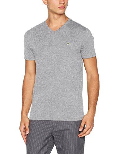 Lacoste Herren T-Shirt Grau (Argent Chine)