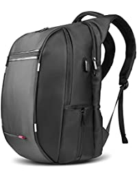 SPARIN Business Laptop Backpack Bags 17.3 Inch with [USB Port], Notebook Computer Backpack [Multi-functional] [High capacity] [NOT for 17.3 Inch Gaming Computer]