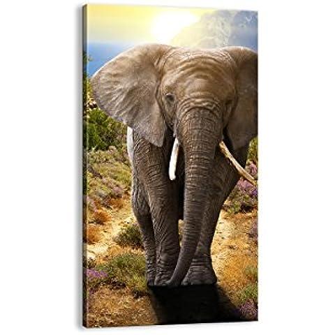 Cuadro sobre lienzo - de una sola pieza - Impresión en lienzo - Ancho: 65cm, Altura: 120cm - Foto número 2708 - listo para colgar - en un marco - PA65x120-2708
