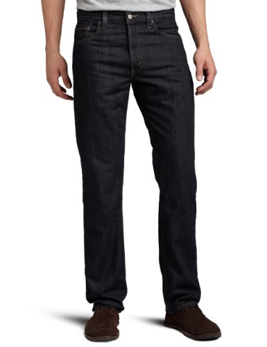 Levi's Men 505 Regular Fit Jean, Enjuague, 36x30