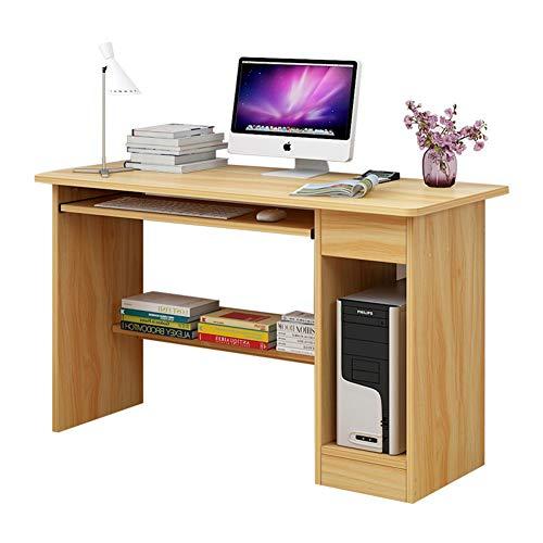 YQ WHJB Computertisch Mit Tastaturunterlage,hölzerne Pc Laptop Schreibtisch,moderner Schreibtisch Studienarbeitsplatz Mit Schublade-a 120x45x72cm(47x18x28in) (Bücher, Die Ich Gekauft Habe)