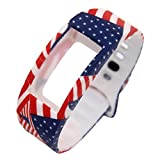#8: B : hunpta Luxury Silicone Small Size (165-195mm) Watch Replacement Band Strap For Samsung Gear Fit 2 SM-R360 Wristband