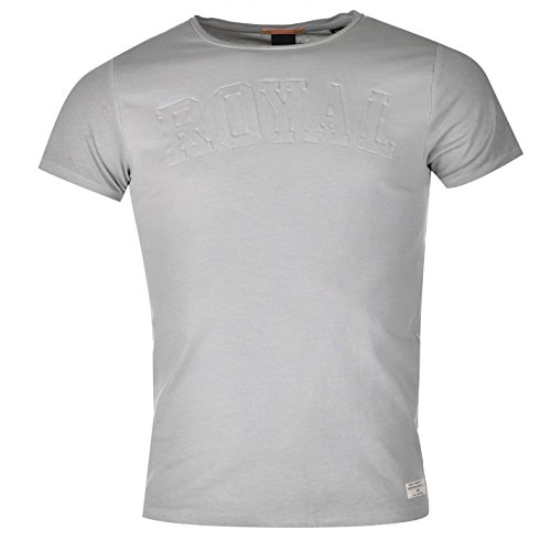Scotch and Soda Herren T Shirt Kurzarm Rundhals Tee Top Baumwolle Gepraegt...