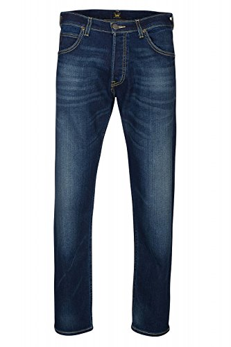 Lee Chase - Jeans - Tapered - Homme Blau