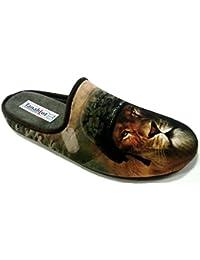 962b01b82e TanahLot Pantofole Ciabatte da Uomo Invernali Art.5556299 Leone Mimetico