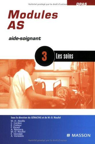 Modules AS - 3: Les soins