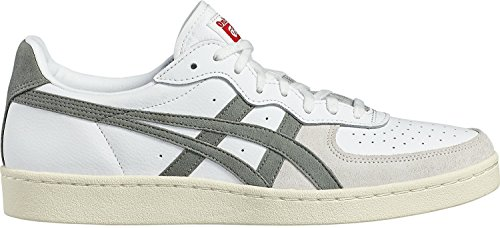 Onitsuka Tiger Gsm, A Collo Basso Unisex Adulto, Multicolore (White/Agave Green), 42 EU