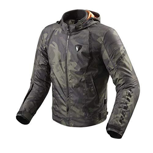Revit Flare Textiljacke Grün XL - 2 Jacke Liner
