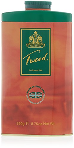 Taylor of London, Tweed, Talco profumato, 250 g