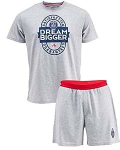 Pyjashort pyjama PSG : T-shirt + short - Collection officielle PARIS SAINT GERMAIN - taille adulte XL
