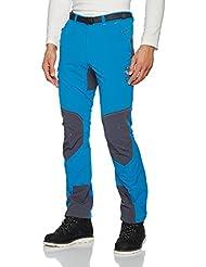 Ternua Withorn, Pantalón Para Hombre, Azul (Deep Duck Blue/Grey), XXL