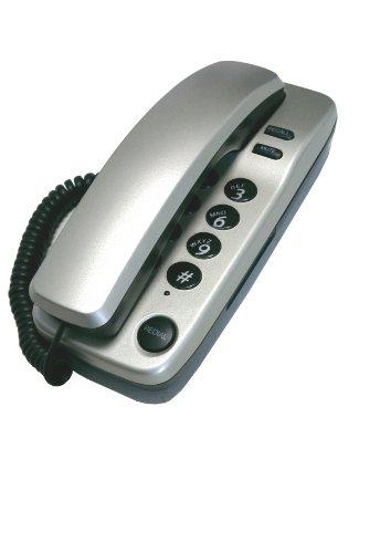 Geemarc Marbella Gondola Style Corded Telephone - Silver- UK Version