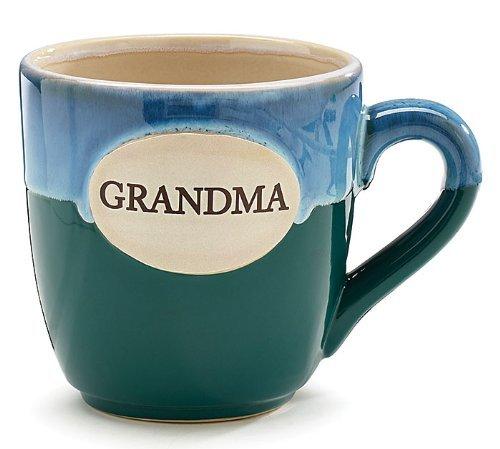 Burton & Burton Kaffeetasse mit Aufschrift Grandma, Porzellan, 454 ml, in Geschenkbox