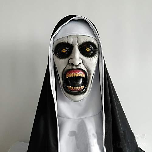 Beängstigend Requisiten Für Haunted House - Qwcdb Halloween Maske Horror Nonne Maske