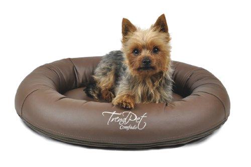 Artikelbild: TrendPet 'Comfado' 60x50cm Espresso, Luxus Hundebett aus Soft-Kunstleder 'Das Hundebett'