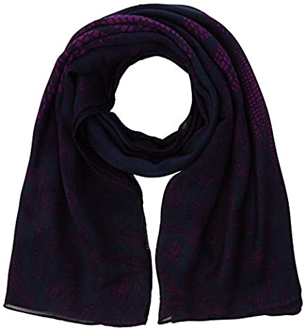 Kipling Women's Soft Scarf, Multicoloured (Orchid Bloom), One Size (Manufacturer Size:0.1)