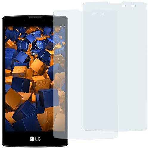 mumbi Schutzfolie kompatibel mit LG G4C Folie, Magna Folie klar, Bildschirmschutzfolie (2x)