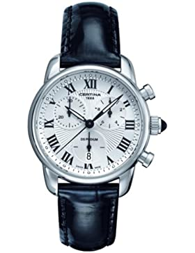 Certina Damen-Armbanduhr XS Chronograph Quarz Leder C025.217.16.018.00