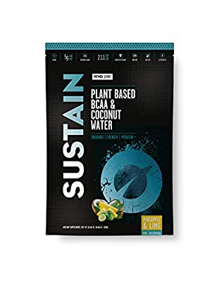 SUSTAIN - Plant Based BCAA & Coconut Water Powder by Vivo Life