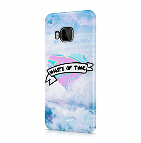 waste-of-time-holographic-tie-dye-heart-stars-space-htc-one-m9-snapon-hard-plastic-phone-protective-