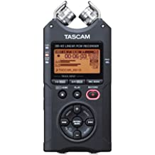 Tascam DR-40 - Grabador digital de mano, color negro