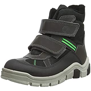RICOSTA Boys'' GEBRIS Snow Boots Grey (Antra 472) 1 UK