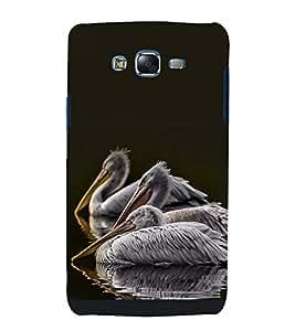 printtech Nature Bird Swan Back Case Cover for Samsung Galaxy J1::Samsung Galaxy J1 J100F