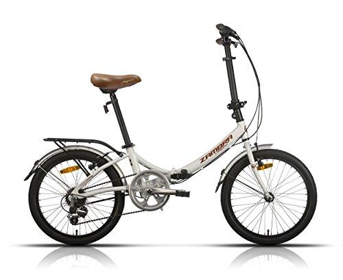 Megamo Zambra Bicicleta Plegable de Paseo, Unisex Adulto
