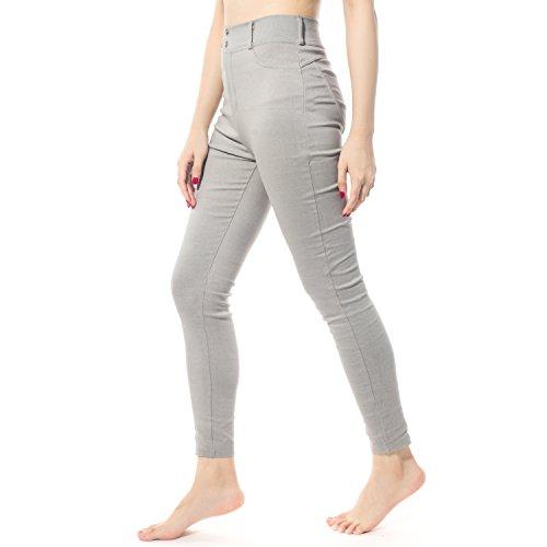 DODOING Hosen Frauen Push Up Hosen Hüfte Bodybuilding Leggings Elastische Taille Fitness Yogahose Laufhose Jogginghose (Elastische Spandex Taille Jeans)