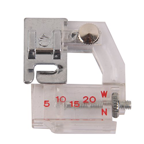 MagiDeal 4 Pieces Binding Sewing Machine Presser Foot and Durable Double Twin Needles Pins Sewing Machine Accessories