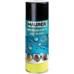 Maurer 12060359 Spray Impermeabilizante Piel y Tejidos 400 ml.