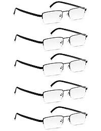 Lunettes de Lecture Read Optics 5 Paires avec Cadre en Métal  Lunettes qui  Facilitent la 41f6802f7837