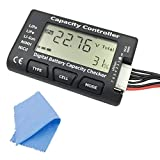 RUNCCI (R 2.1 'RC Cellulare Capacita' Meter-7 Digital Battery Checker / Controller per NiCd / NiMH / LiPo / Life / Li-Ion