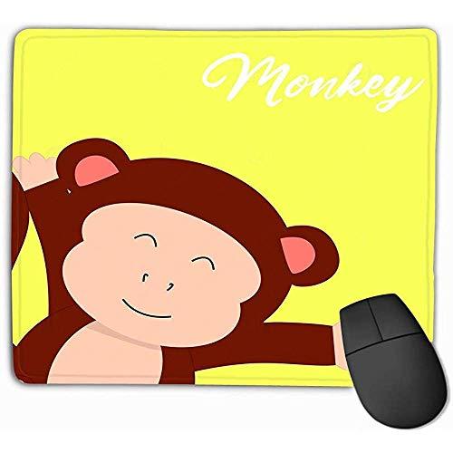 Mausunterlage AFFE-niedliche Zeichentrickfilm-Figuren AFFE-niedliche Zeichentrickfilm-Figuren Niedliches Kinderbuch Mousepad