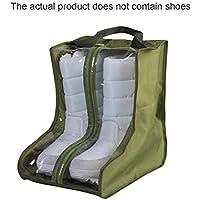 Seasaleshop Bolsa de Zapatos 5pcs Bolsas para Viaje con Dibujar Cadena de Lazo, Portátil Accesorios de Viaje Bolsas con Ventana Transparente