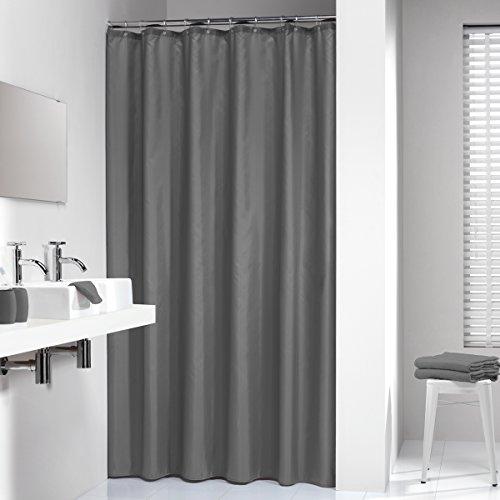 duschvorhang 220 x 200 Sealskin Textil Duschvorhang Madeira, Farbe: Grau, B x H: 240 x 200 cm