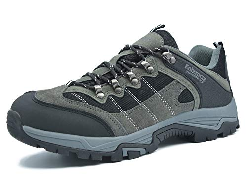 Scarpe da Trekking Uomo Donna Arrampicata Sportive All'aperto Escursionismo Sneakers Scarpe da Donna Impermeabili Traspiranti Donna-Grey-5