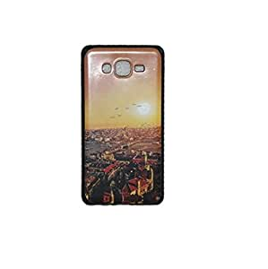 Printed Designer Soft Silicone Back Cover Case For Samsung ON7
