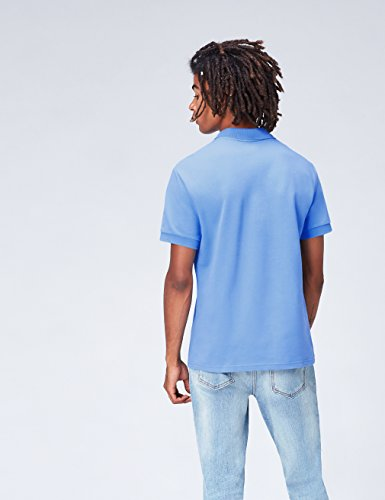 FIND Herren Poloshirt Casual Solid Blau (Marine Blue)