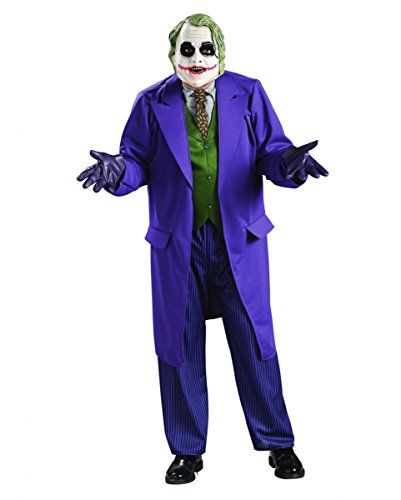 Joker Dark Knight Kostüm Gr. M/L (Weste Nadelstreifen Kostüm)