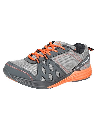 Tracer Grey And Orange Running Shoes  available at amazon for Rs.1679