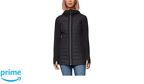 Donna XS Black Jacket it Giacca Amazon Nero Quilted Bench Jet qpUBHH